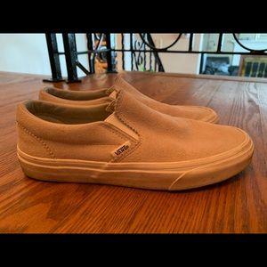 Vans Shoes - Vans- Slip-on in cream